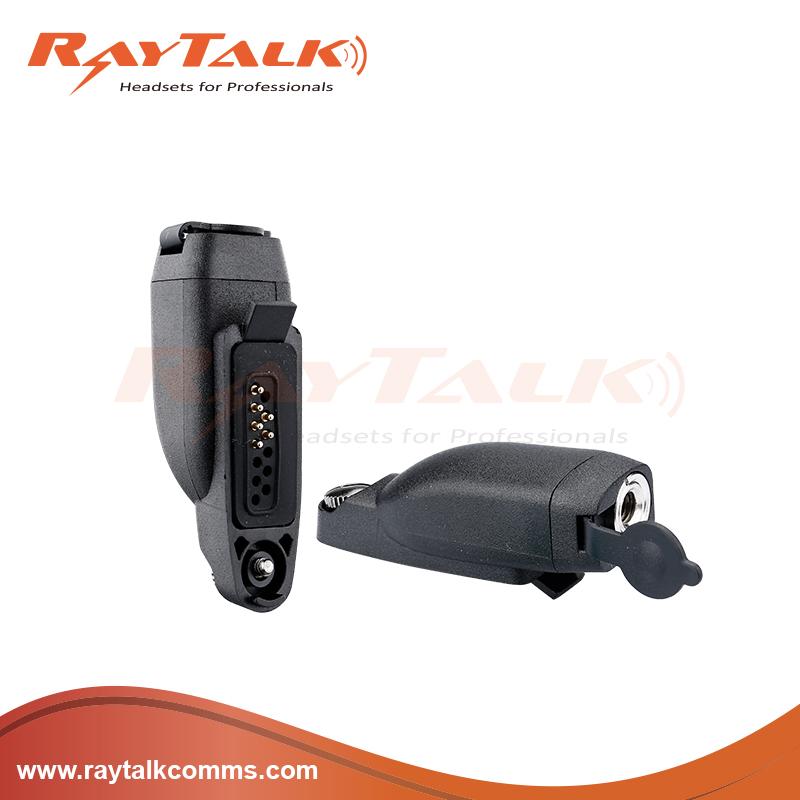 Hln-9717 Connector Block / Adaptor For Motorola Radio Gp344 Gp388 Gp628 on