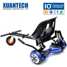 Hot selling smart wheels hoverboard, scooter with soft seat, factory selling hover kart