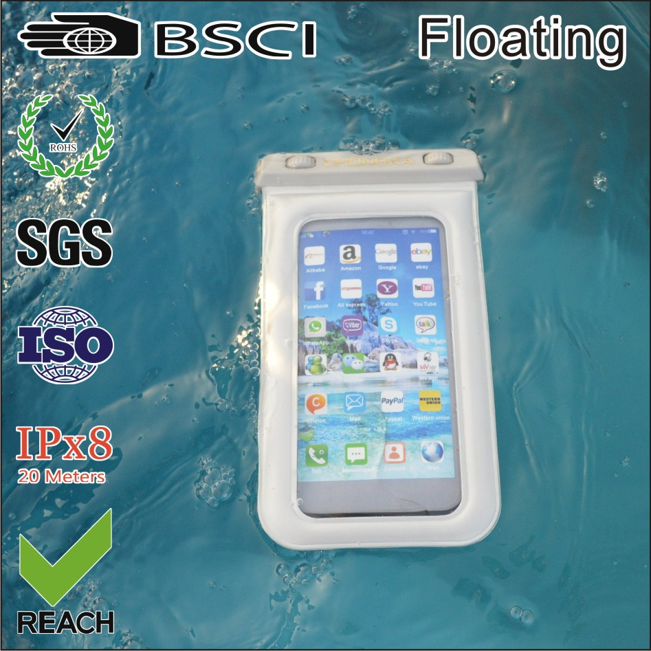 PVC Material and for Apple iPhones Compatible Brand Waterproof Diving Bag For Mobile Phones