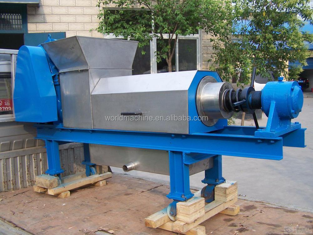 Multi Function Food Waste Screw Press Machine For Sale