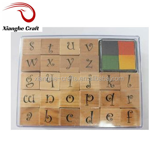 hot sale alphabet rubber stamps