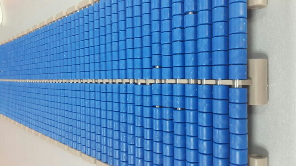 Lbp821 Roller Top Modular Plastic Conveyor Belts
