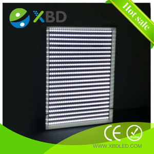 single-sided illumination famous brand chip 12v/24v 5050 SMD led rigid strip Light Bar module curtain backlight panel