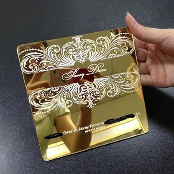 Gold Color Wedding Invitation Card Luxury Buy Wedding Invitation Card Luxury Wedding Invitation Card Luxury Wedding Invitation Card Luxury Product