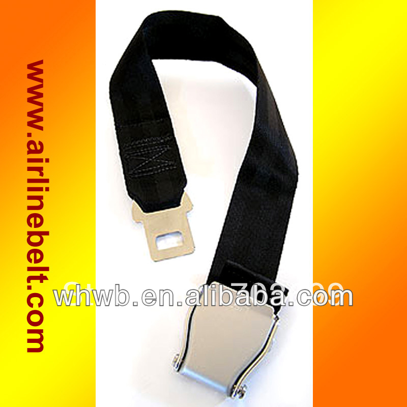 Top classic seat aircraft safety belt extension