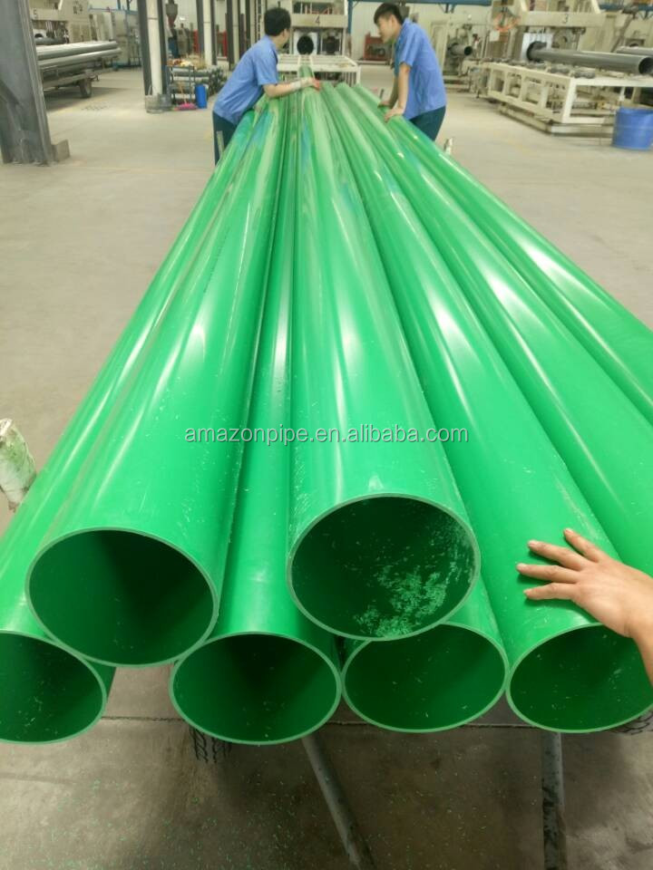 32mm 40mm diameter hard pvc pipe for water supply