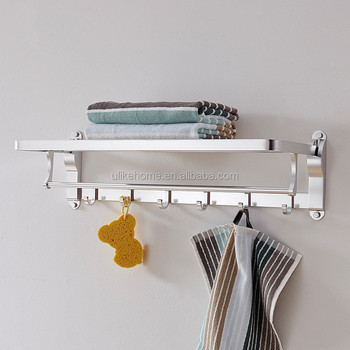 Never Rust Aluminum Bathroom Hanging Towel Clothes Racks For Aliexpress