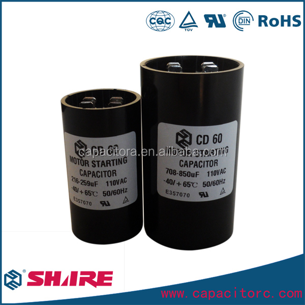 facon cd60 motor starting capacitor with 130-150UF