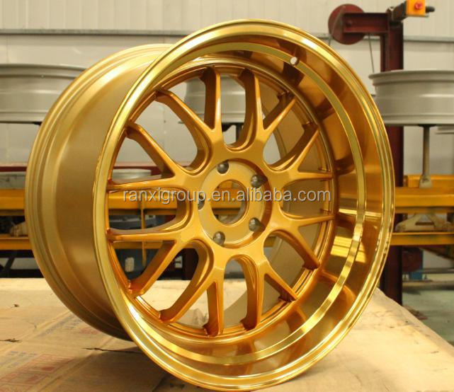 17inch 18inch 20 inch spoke wheel chrome rim/concave wheels