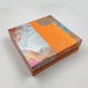 Customized four divider moon cake box for gift