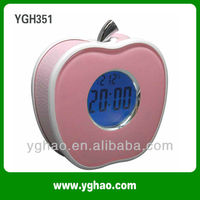 YGH351 LED Night Light Speaking musical alarm clocks for kids