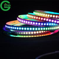 Glite LED Digital Strip Full Color 5m144 led strip ws2812b ws2811 ws2813 chip RGB Led Strip,Addressable Built-in SMD 5050 Chip
