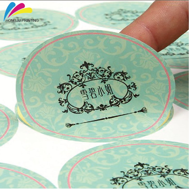 Customized China professional manufacturer custom printing transparent label sticker Labels in Roll
