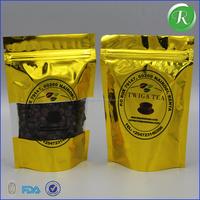 bulk plastic waterproof zipper bags/ziplock aluminum foil bag sealer/custom printed foil laminated mylar ziplock bag