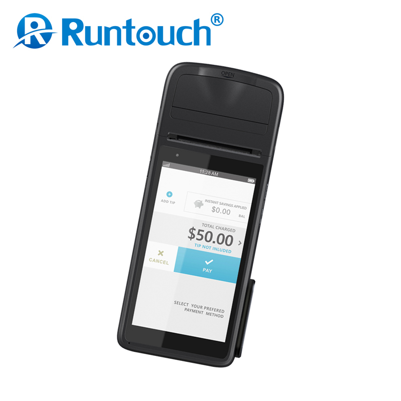 Runtouch RT8 ingenicoo ict 220 pos terminal with power adapter