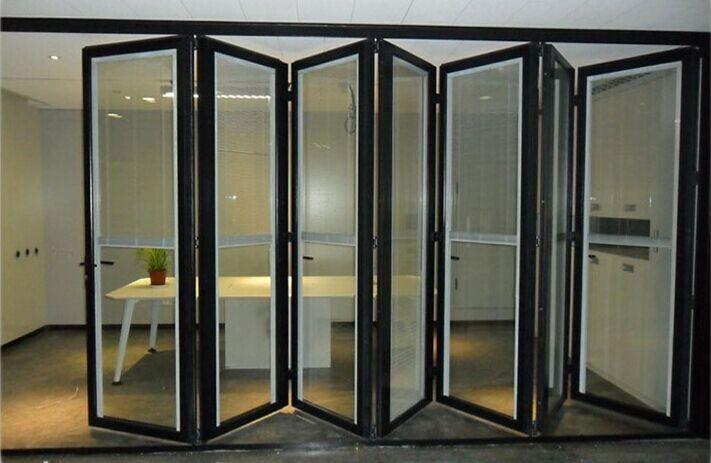 6 Panel Aluminium Commercial Accordion Folding Doors Buy