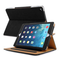 Black Tan Case Cover For ipad pro 9.7 10.5 2017 Stand Tablet Case Leather Bag With Sleep Wake