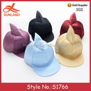 S1766 high quality custom sharp unicorn funny kids small size children 5 panel baby hat snapback plain hip hop caps wholesale