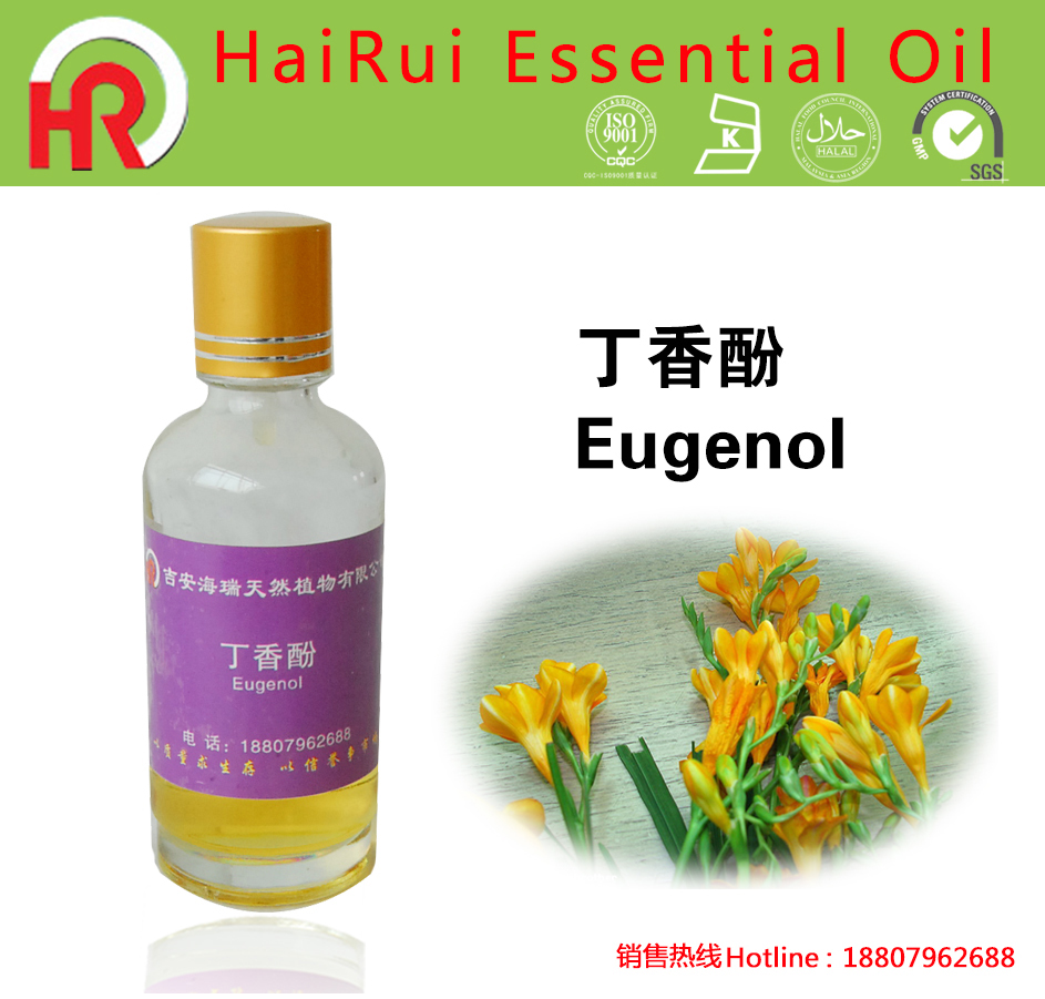 isolation of essential oils from eugenol Experiment #7: steam distillation of essential oils: isolation of the oils from and eugenol, are characterized by.
