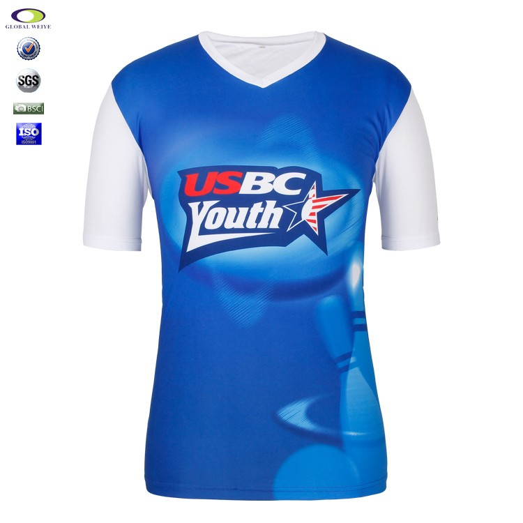 100 polyester wholesale dye sublimation t shirt printing