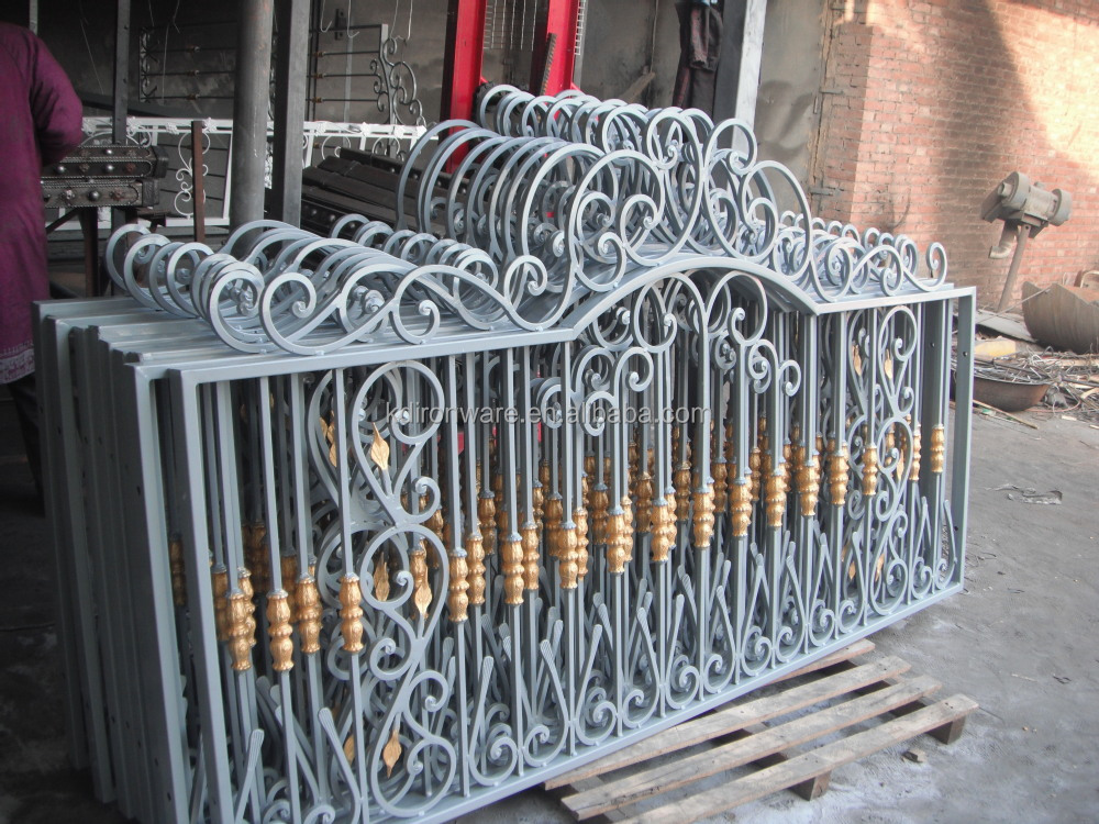 Popular Garden Decorative Forged Iron Fencing,Wrought Iron