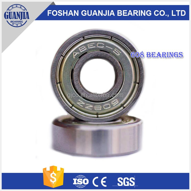 HOT SALE Miniature Deep Groove Ball <strong>Bearings</strong> 608ZZ
