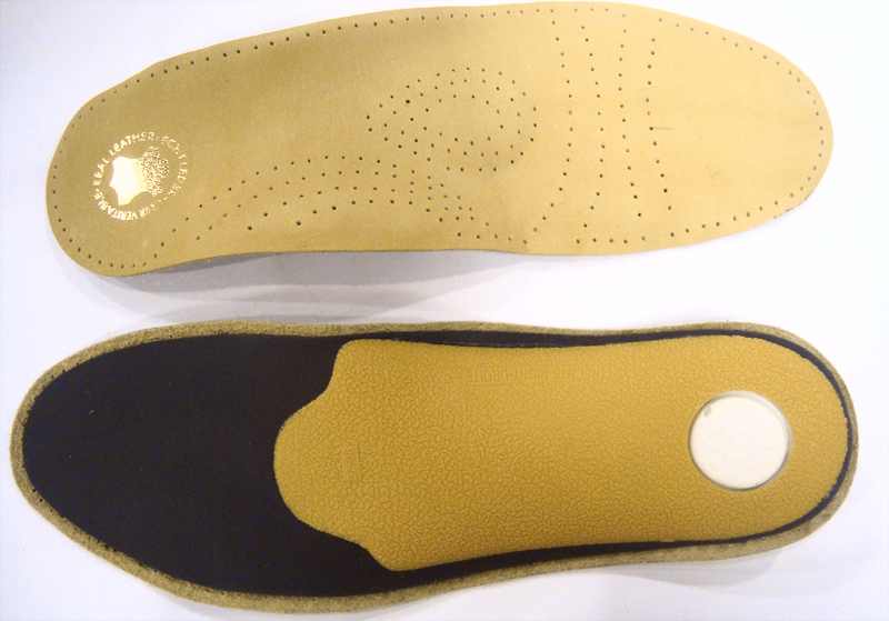 Latex leather heel Insole