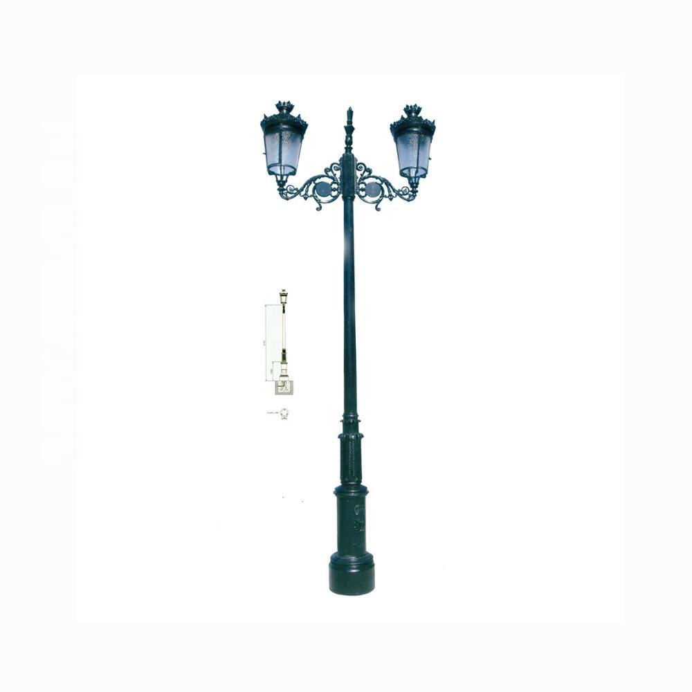 Outdoor Decorative Antique Cast Iron Lamp Post Buy Cast