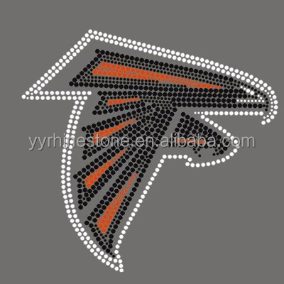 Atlanta Falcons Football rhinestone transfer