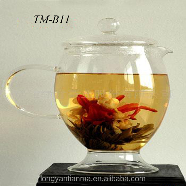 Beautiful flower <strong>tea</strong> blooming <strong>tea</strong>