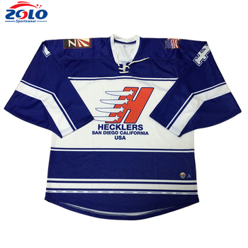0338582ee Custom Made Sublimation 6xl Ice Hockey Jersey With Lace Collar - Buy ...