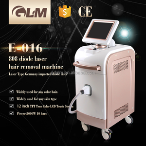 2017 GLM 2000W high power! diode laser hair removal machine/ 808 nm