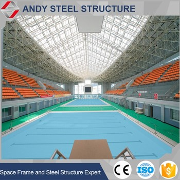 Swimming Pool Roof Frame Construction Materials Cost - Buy Swimming ...
