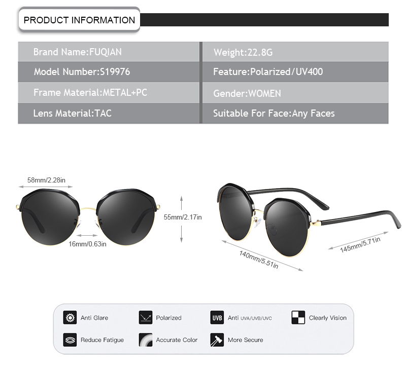 Fuqian Wholesale cavalli sunglasses for business-7