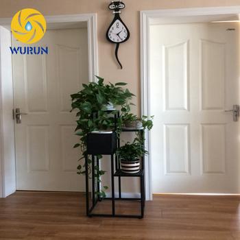 Indoor Decorative Wrought Iron Metal Shelves Display Stands For Unique Wrought Iron Display Stands