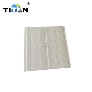 Pvc Tongue And Groove Plastic Wood Grain Ceiling Panels