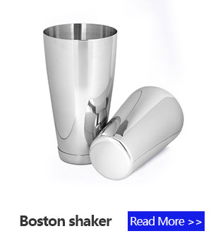 Hot sale stainless steel bar sets Boston cocktail shaker