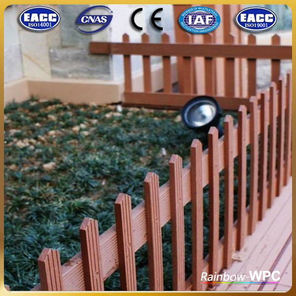 Wpc Composite Garden Trellis, Decorative Garden Fence Panels