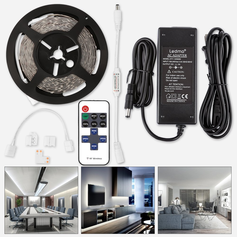 Cheap Dimmable Led Strip Light Find Deals Non Lighting Controller Get Quotations Ledmo Lights New Version Cool White 6000k Strips Dc12v Of