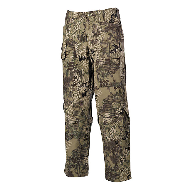 Ripstop Mission Combat Trousers Solid Color Camouflage Men's Outdoor Cargo Pants