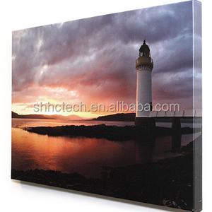 Waterproof Lovely Sunset Custom Canvas Print Digital Art Painting Service