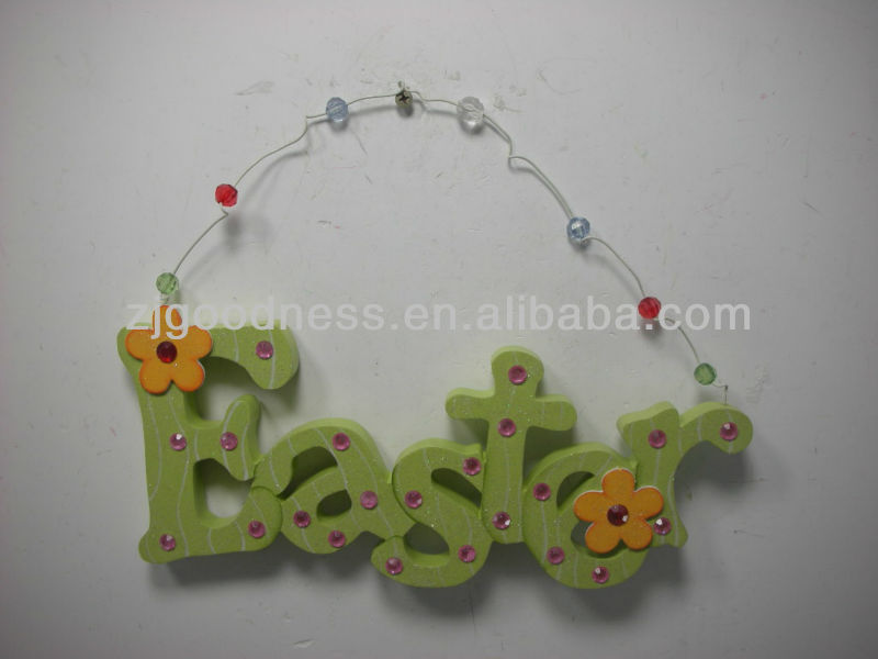 Good Sale Spring Sign Easter Words Sign Wall Plaque
