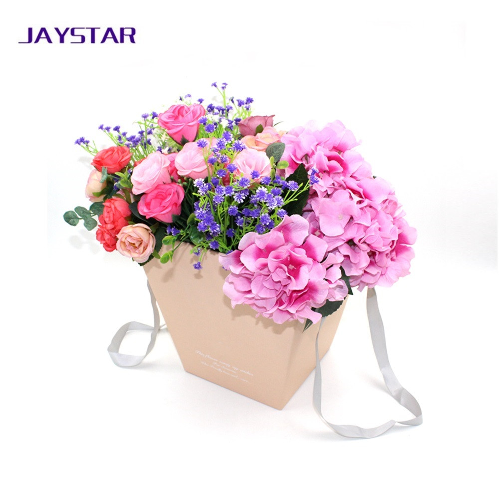 Open mind design wholesale paper flower bouquet packaging boxes with 0013g 0016g 0014g izmirmasajfo