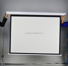 High quality 150 inch Electrical Projection Screen/electric screen/projection screen