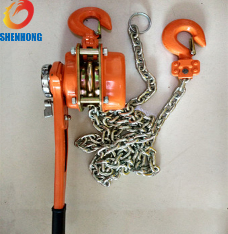 Tightening tools 1.5 T Lever Hoist Chain Pulley Block