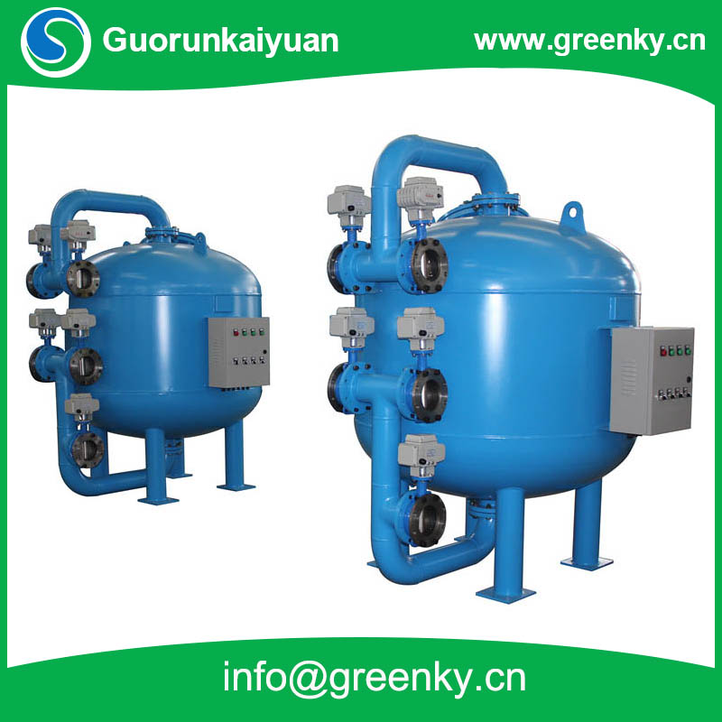 Automatic PLC Control Back Washing Sand filter for Waste Water Purification