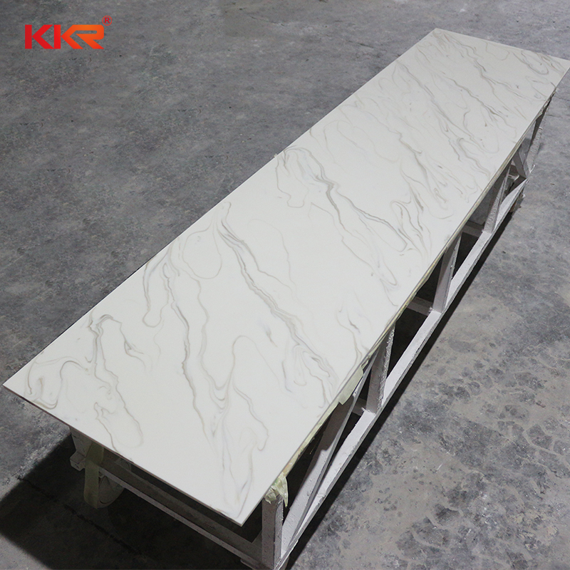 Acrylic artificial decorative stone solid surface countertop slabs