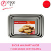 factory wholesale & free sample carbon steel pan bake sheet/cookie sheet/biscuit sheet in small,middle & large sizes