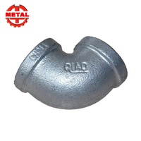 Hot-Dip Galvanized 22.5 degree elbow