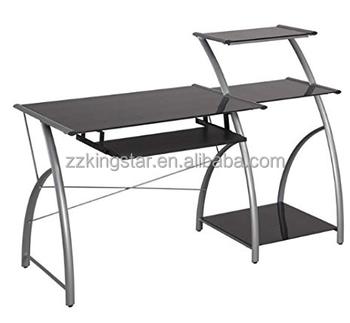 Modern Glass Corner Computer Table Laptop Desk - Buy Modern Glass Computer  Desk,Glass Corner Computer Desk,Laptop Computer Lap Desk Product on ...
